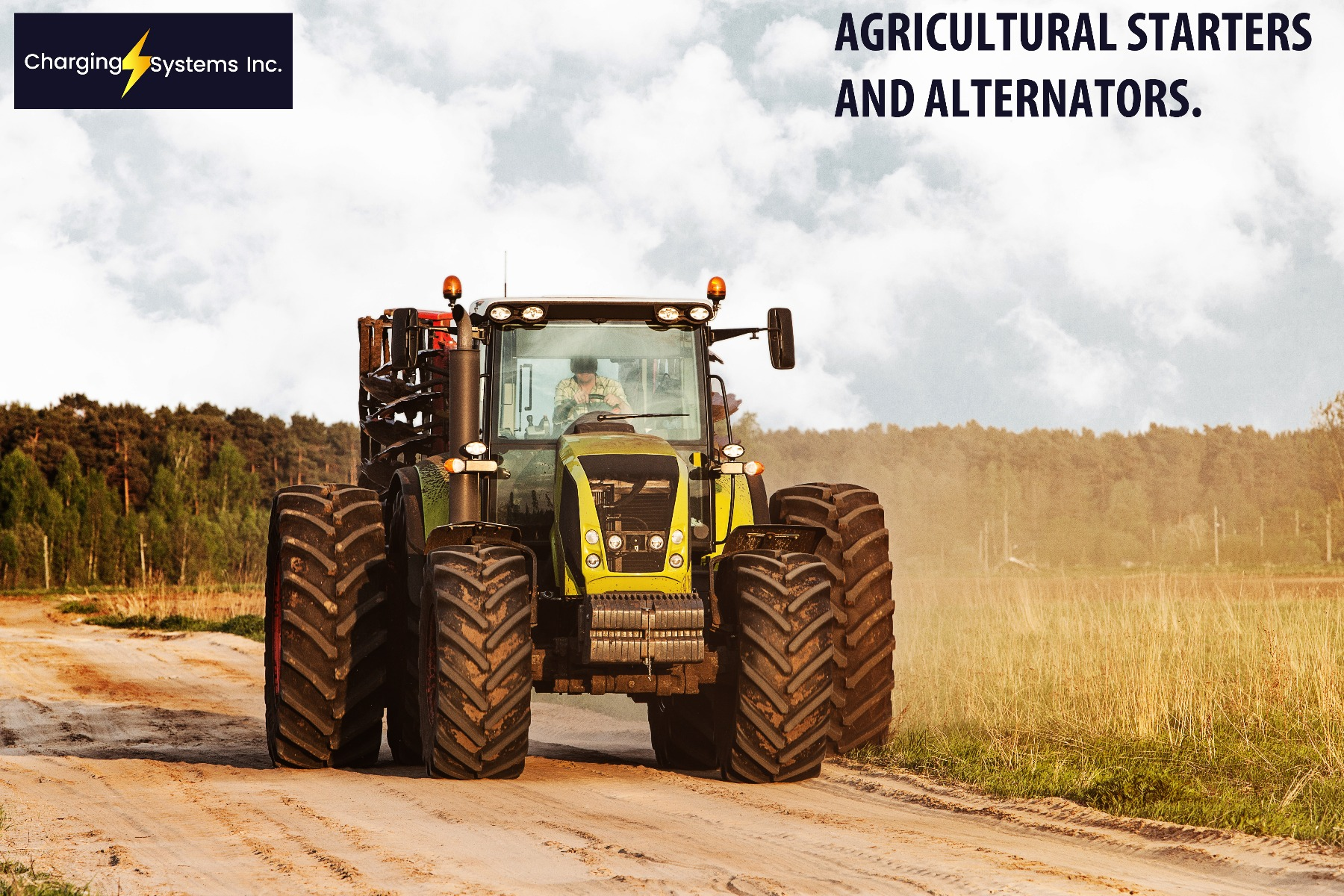 Agricultural Tractor Starters And Alternators